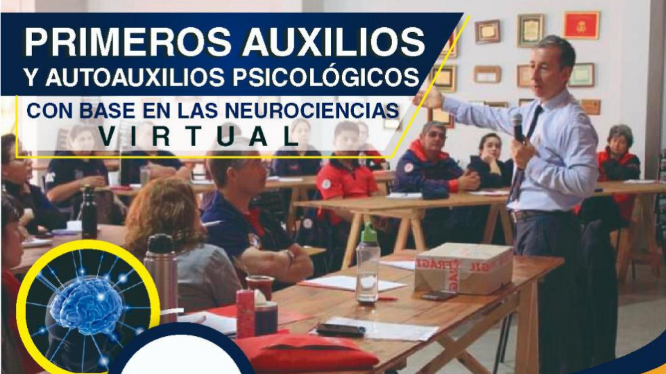 CURSO DE PRIMEROS AUXILIOS Y AUTOAUXILIOS PSICOLÓGICOS